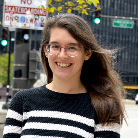 photo of Zoe Benditt | Donor Relations and Data Coordinator | Reading in Motion