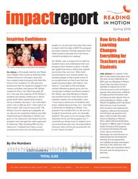 thumbnail from Reading in Motion's Spring 2019 Impact Report | Literacy program Chicago/Nevada