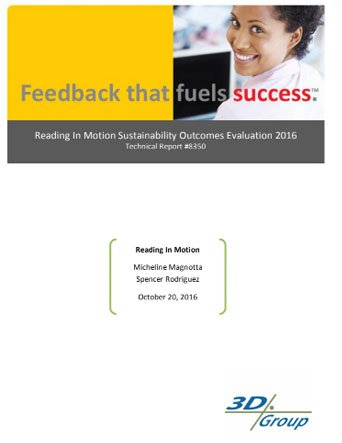 thumbnail image of Reading In Motion Sustainability Outcomes Evaluation 2016 | Reading in Motion