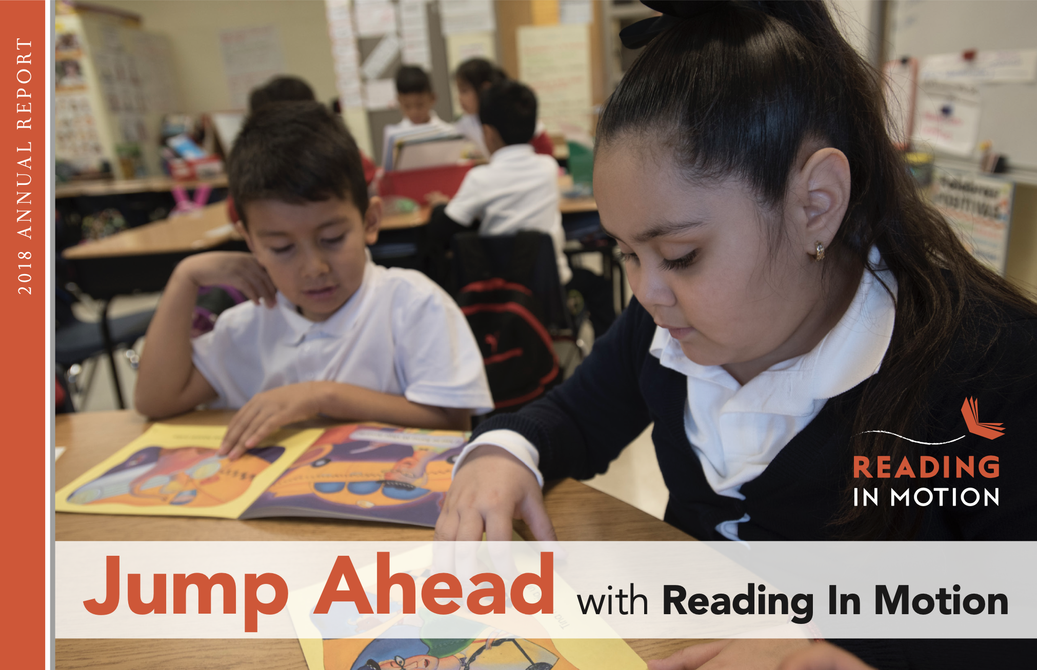 thumbnail from Reading in Motion's 2018 Annual Report | Literacy program Chicago/Nevada
